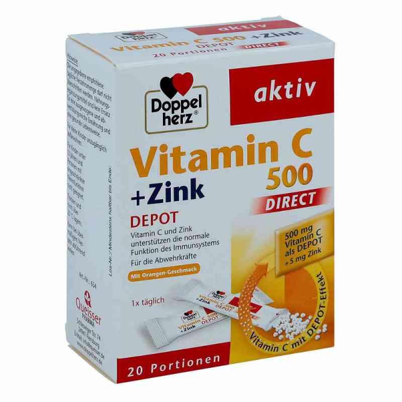 Doppelherz Vitamin C 500+zink Depot direct Pellets  bei apo-discounter.de bestellen