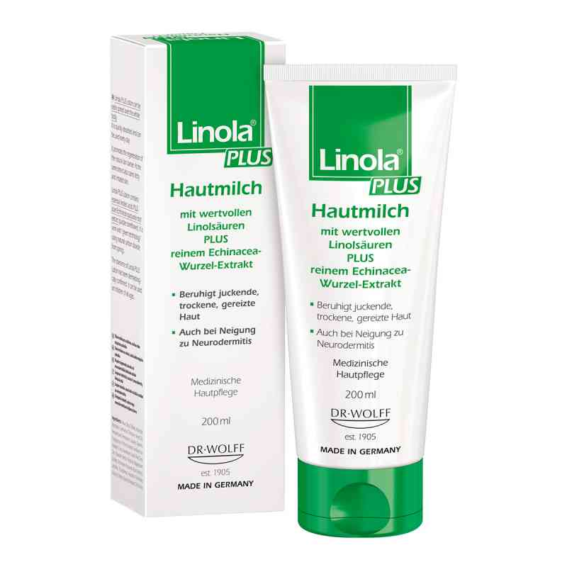 Linola Plus Hautmilch  bei apo-discounter.de bestellen