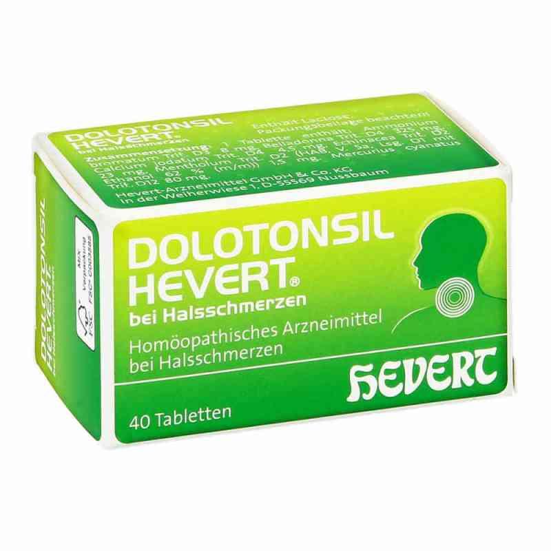 Dolotonsil Hevert bei Halsschmerzen Tabletten  bei apo-discounter.de bestellen