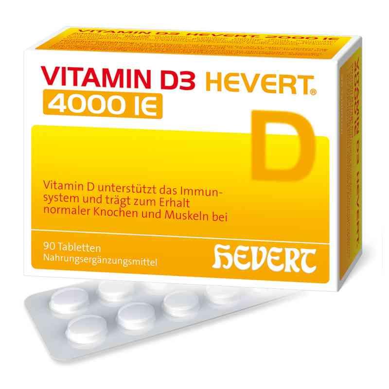 Vitamin D3 Hevert 4.000 I.e. Tabletten  bei apo-discounter.de bestellen