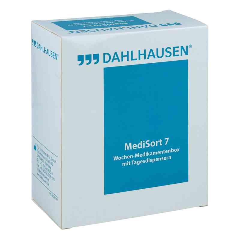 Medikamenten Box Medisort 7 für 1 Woche weiss  bei apo-discounter.de bestellen