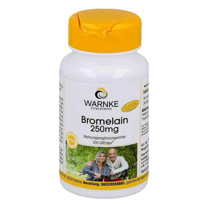 Bromelain 250 mg magensaftresistente Kapseln  bei apo-discounter.de bestellen