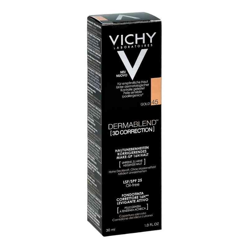 Vichy Dermablend 3d Make-up 45 30 ml von L'Oreal Deutschland GmbH PZN 11479891
