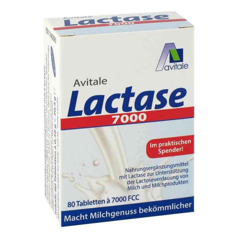 Lactase 7.000 Fcc Tabletten im Spender  bei apo-discounter.de bestellen