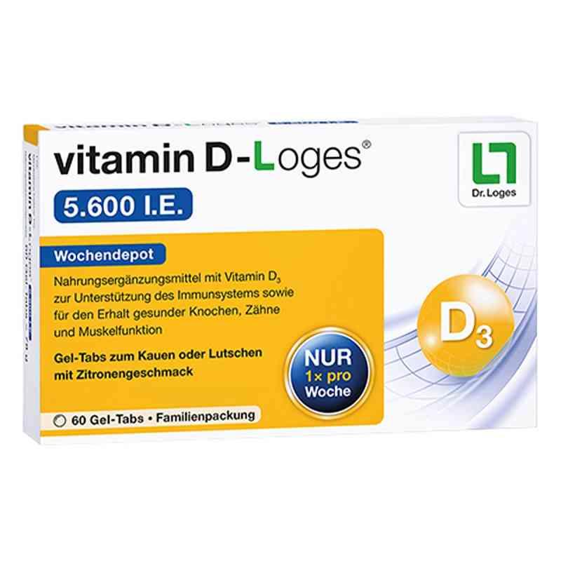 Vitamin D-loges 5.600 I.e. Kautablette (n) familienpackung  bei apo-discounter.de bestellen