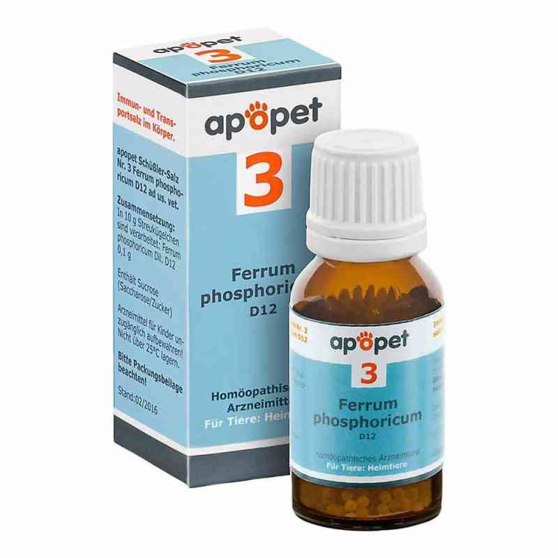 Apopet Schüssler-salz Nummer 3  Ferrum phosphoricum D  12 veteri  bei apo-discounter.de bestellen