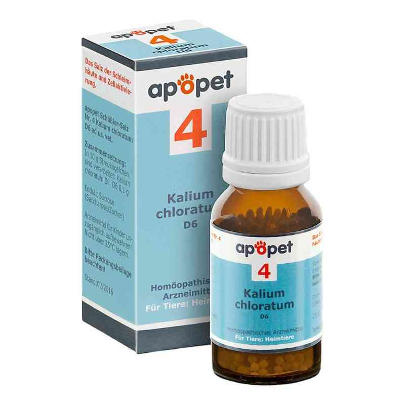 Apopet Schüssler-salz Nummer 4 Kalium chlor.D 6 veterinär  bei apo-discounter.de bestellen