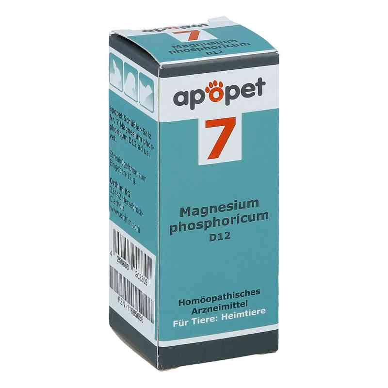 Apopet Schüssler-salz Nummer 7  Magnesium phosphoricum D  12 vet  bei apo-discounter.de bestellen