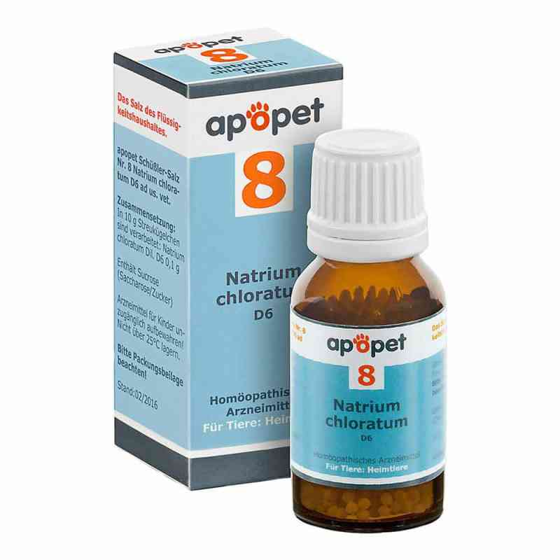 Apopet Schüssler-salz Nummer 8 Natrium chlor.D 6 veterinär  bei apo-discounter.de bestellen