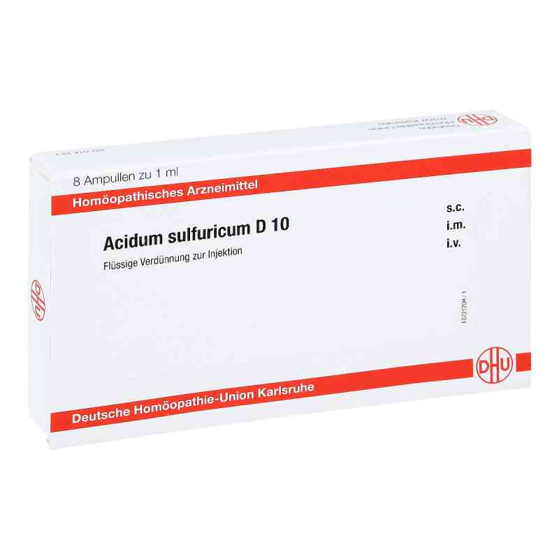 Acidum Sulfuricum D 10 Ampullen  bei apo-discounter.de bestellen