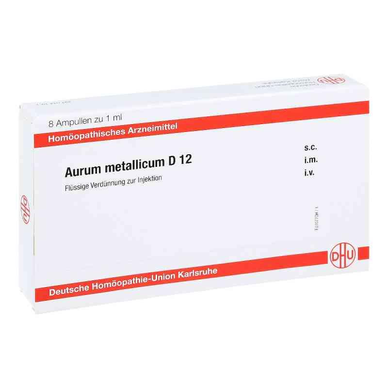 Aurum Metallicum D 12 Ampullen  bei apo-discounter.de bestellen
