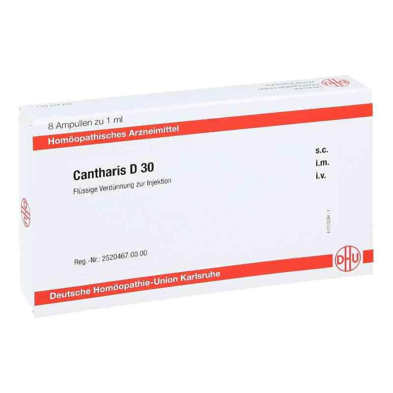 Cantharis D 30 Ampullen  bei apo-discounter.de bestellen