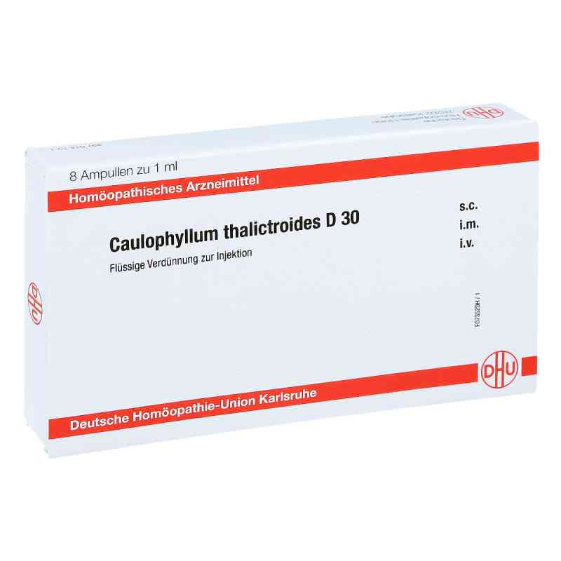 Caulophyllum Thalictroides D 30 Ampullen  bei apo-discounter.de bestellen
