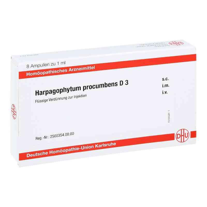 Harpagophytum Procumbens D 3 Ampullen  bei apo-discounter.de bestellen