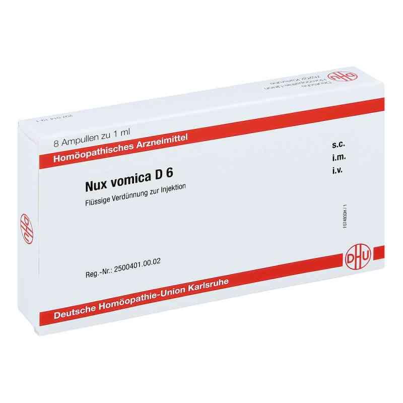 Nux Vomica D 6 Ampullen  bei apo-discounter.de bestellen