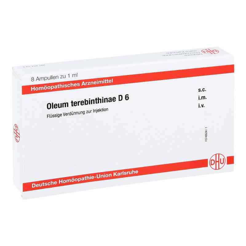 Oleum Terebinthinae D 6 Ampullen  bei apo-discounter.de bestellen