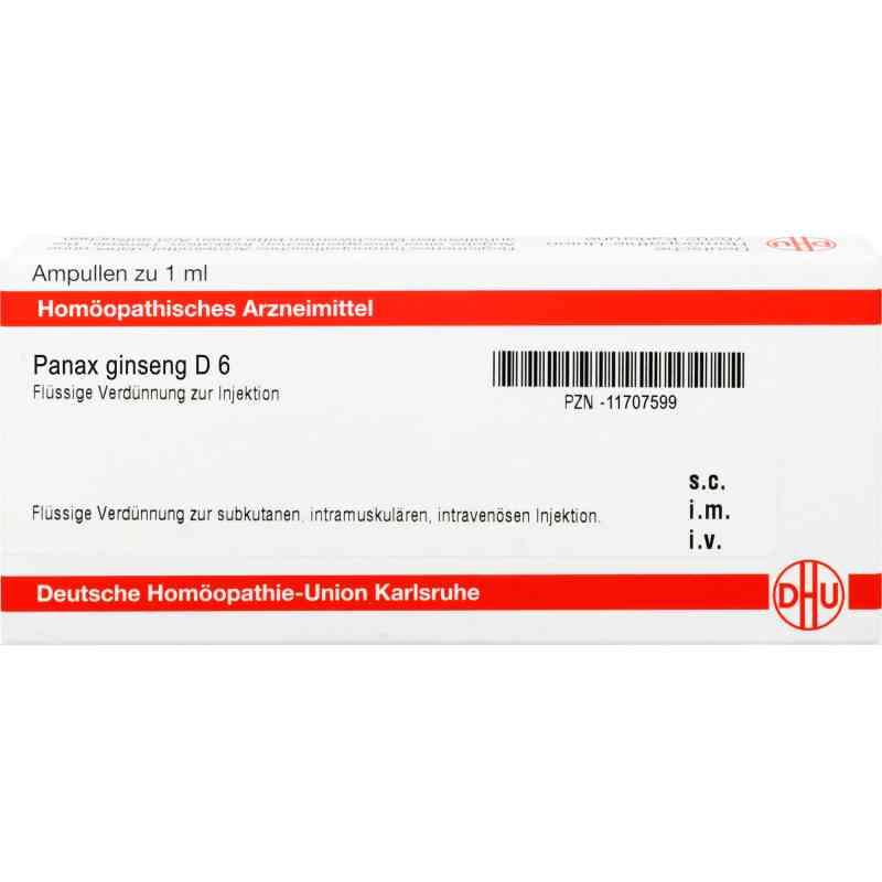 Panax Ginseng D 6 Ampullen  bei apo-discounter.de bestellen