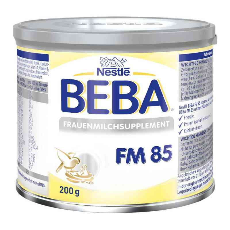 Nestle Beba Fm 85 Frauenmilchsupplement Pulver  bei apo-discounter.de bestellen