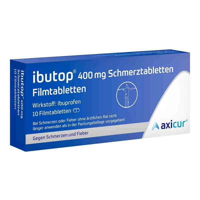 ibutop 400mg schmerztabletten 10 stk online g nstig kaufen. Black Bedroom Furniture Sets. Home Design Ideas