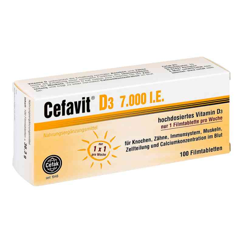 Cefavit D3 7.000 I.e. Filmtabletten  bei apo-discounter.de bestellen