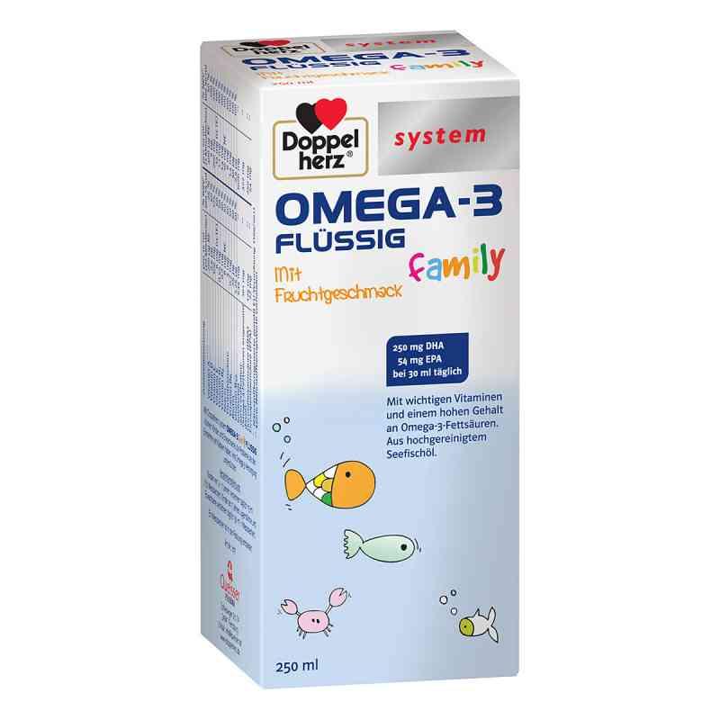 Doppelherz Omega-3 family flüssig system  bei apo-discounter.de bestellen