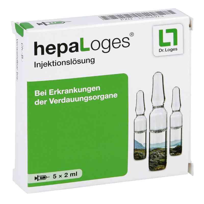Hepa Loges Injektionslösung Ampullen  bei apo-discounter.de bestellen