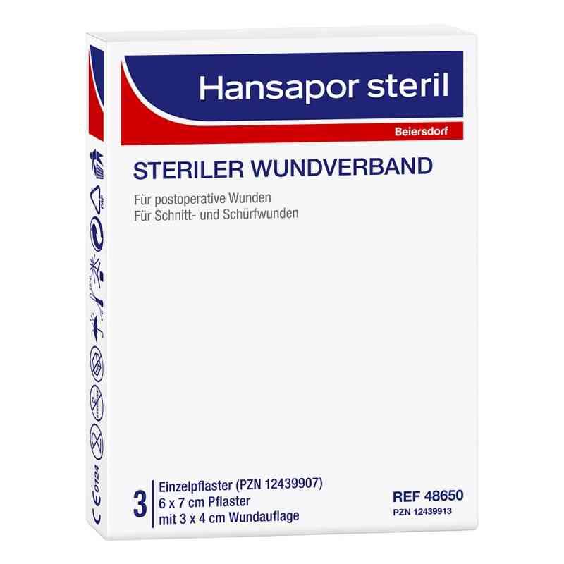Hansapor steril Wundverband 6x7 cm  bei apo-discounter.de bestellen
