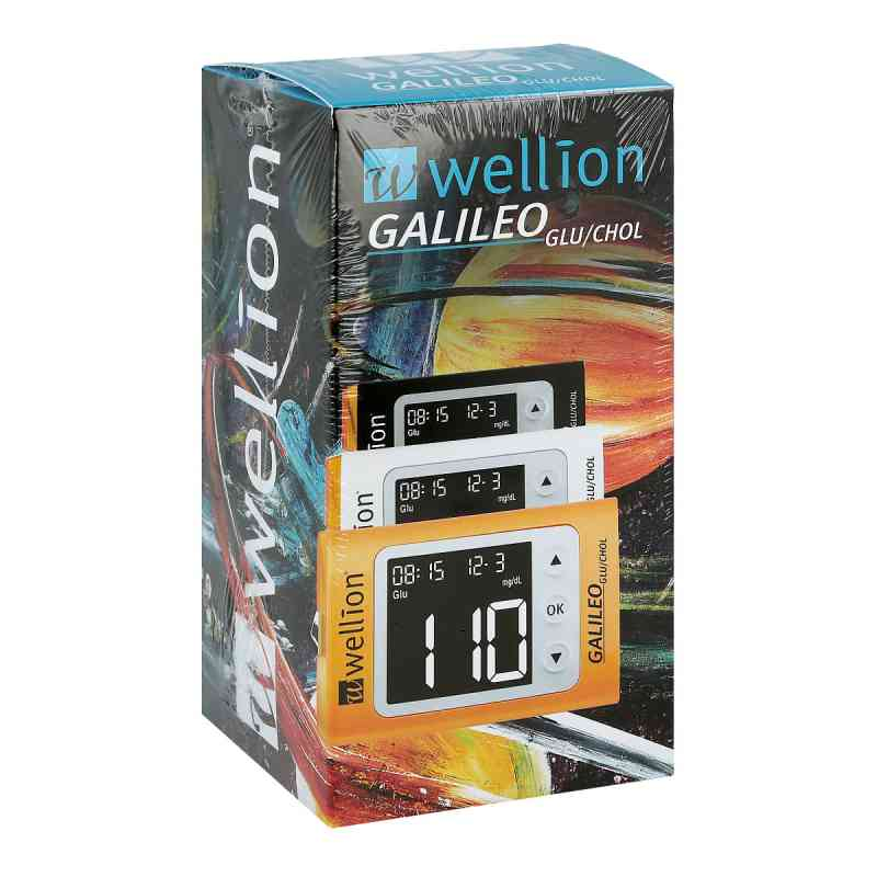 Wellion Galileo Glu/chol Set mmol/l gelb  bei apo-discounter.de bestellen
