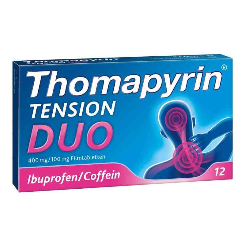 Thomapyrin Tension Duo 400 mg/100 mg Filmtabletten  bei apo-discounter.de bestellen