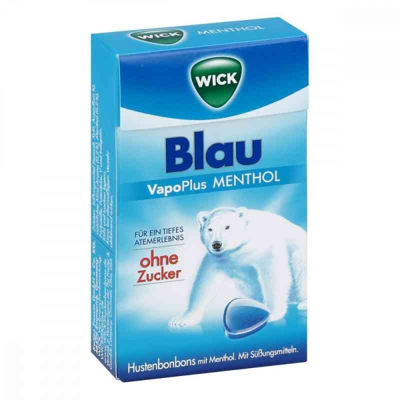 Wick Blau Menthol Bonbons ohne Zucker  Clickbox  bei apo-discounter.de bestellen