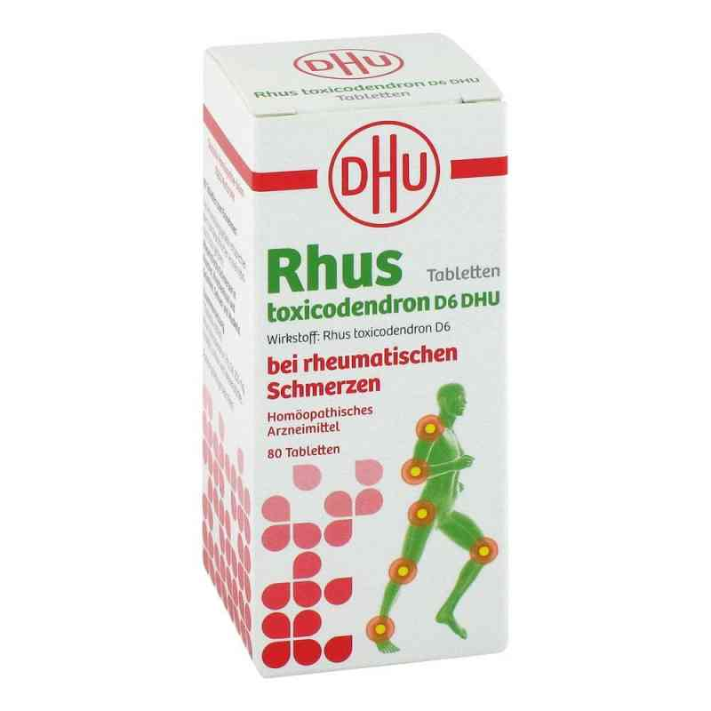 Rhus Tox. D6 Dhu bei rheumatischen Schmerzen Tabletten  bei apo-discounter.de bestellen
