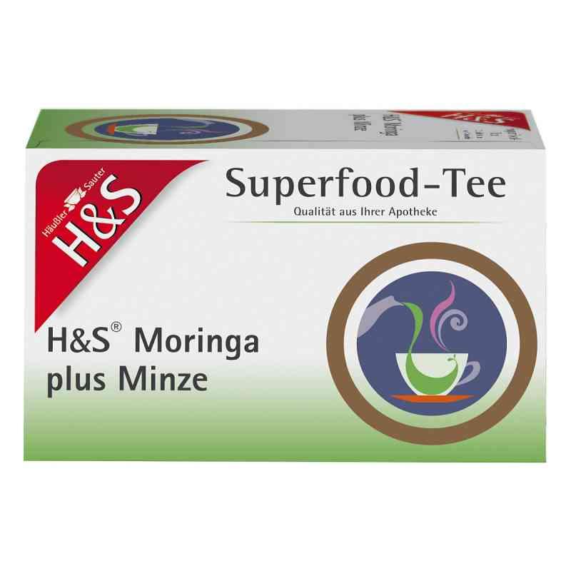 H&s Moringa plus Minze Filterbeutel  bei apo-discounter.de bestellen