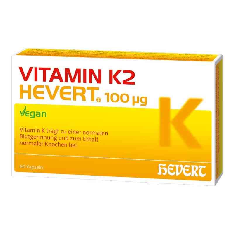 Vitamin K2 Hevert 100 [my]g Kapseln  bei apo-discounter.de bestellen