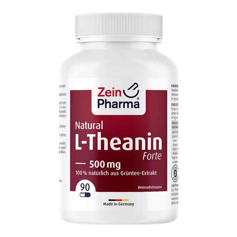 L-theanin Natural Forte 500 mg Kapseln Zeinpharma  bei apo-discounter.de bestellen