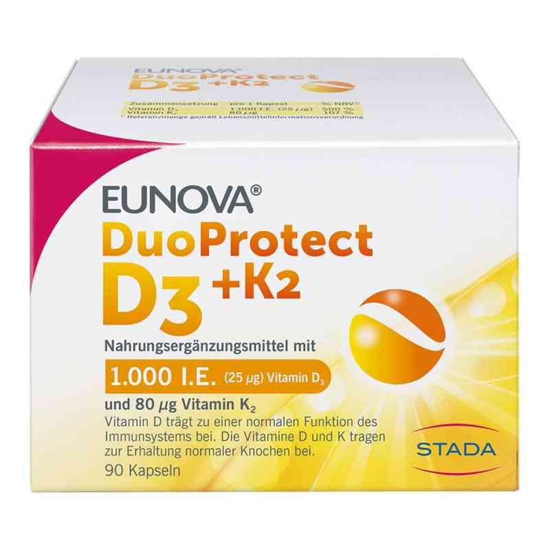 Eunova Duoprotect D3+k2 1000 I.e./80 [my]g Kapseln  bei apo-discounter.de bestellen