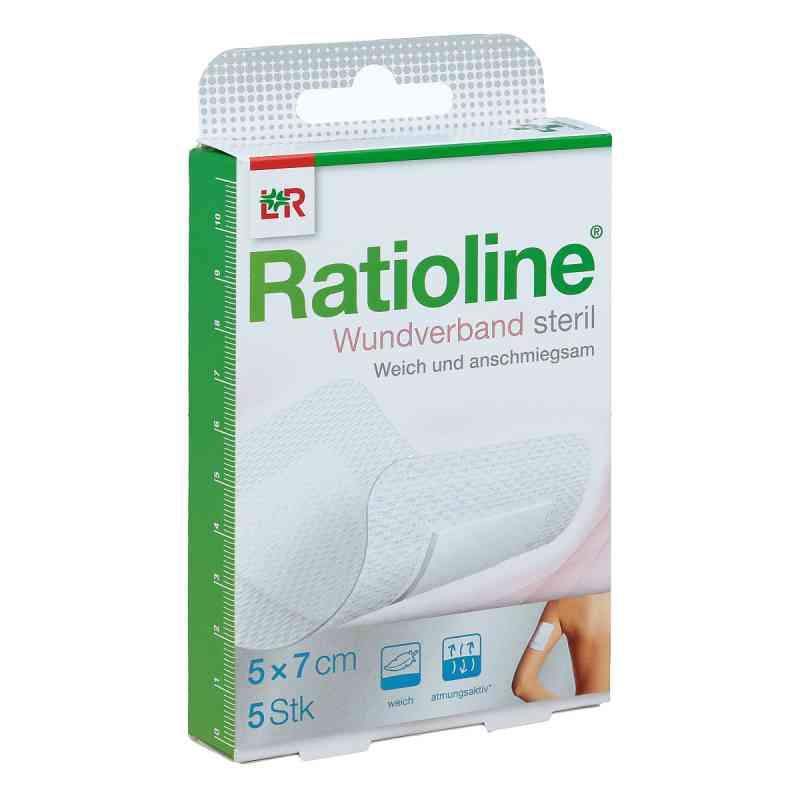 Ratioline Wundverband 7x5 cm steril  bei apo-discounter.de bestellen