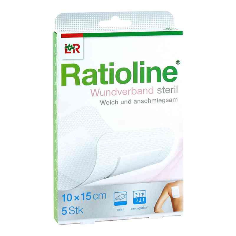 Ratioline Wundverband 15x10 cm steril  bei apo-discounter.de bestellen