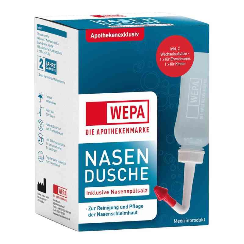 Wepa Nasenspülkanne mit 10x2,95 g Nasenspülsalz  bei apo-discounter.de bestellen