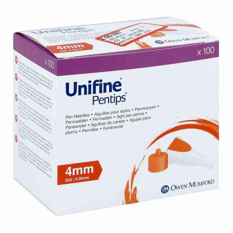 Unifine Pentips Kanüle 33 G 4 mm  bei apo-discounter.de bestellen