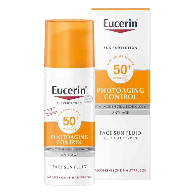 Eucerin Sun Fluid Photoaging Control Lsf 50  bei apo-discounter.de bestellen