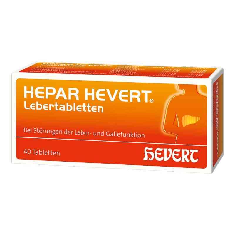 Hepar Hevert Lebertabletten  bei apo-discounter.de bestellen