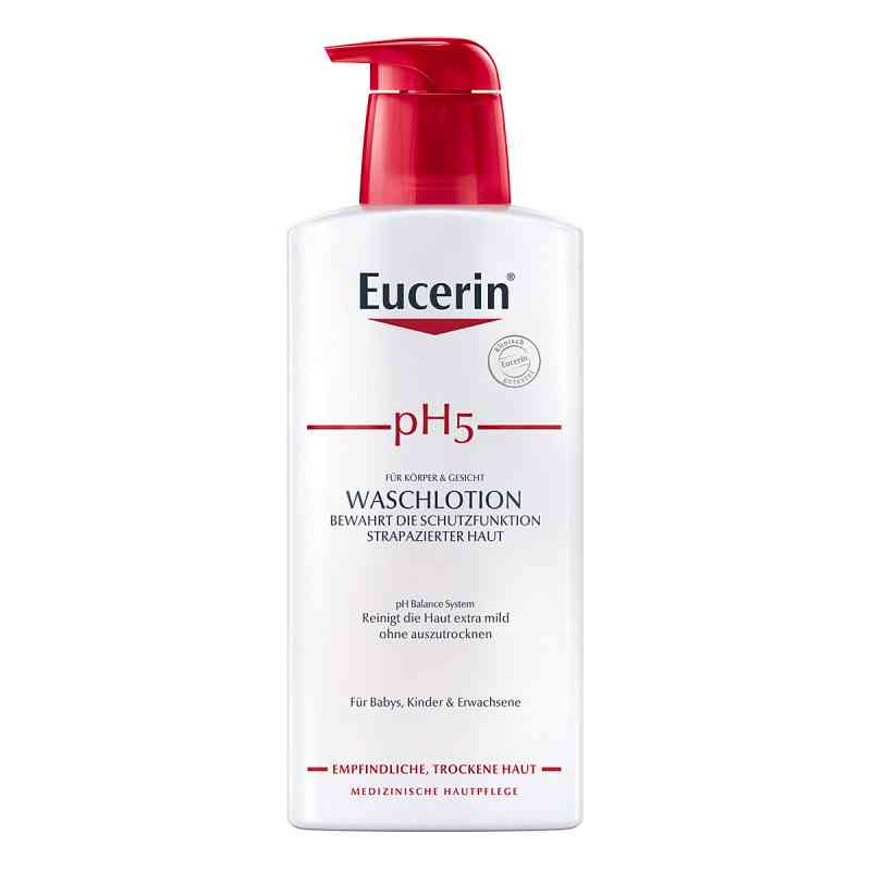 Eucerin pH5 Waschlotion mit Pumpe empfindliche Haut  bei apo-discounter.de bestellen
