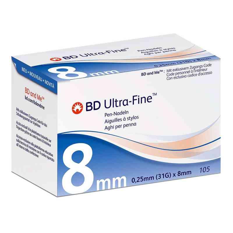 Bd Ultra-fine Pen-nadeln 8 mm 31 G  bei apo-discounter.de bestellen