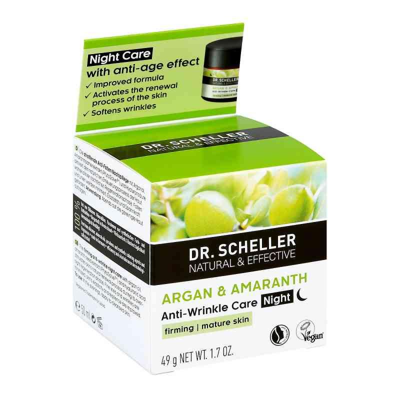 Dr.scheller Argan&amaranth Anti-falten Pfl.nacht  bei apo-discounter.de bestellen