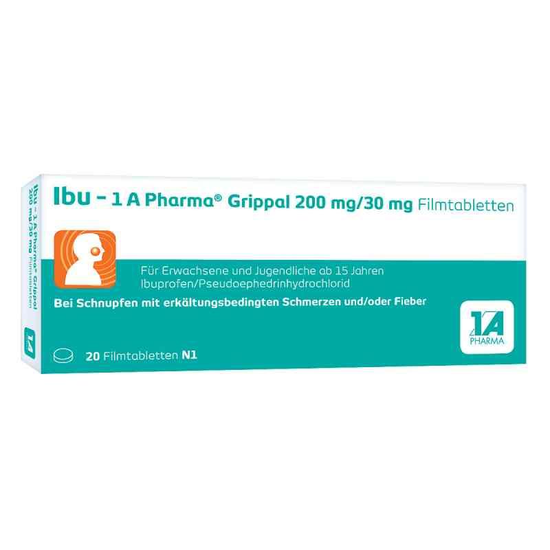 Ibu-1a Pharma Grippal 200 mg/30 mg Filmtabletten  bei apo-discounter.de bestellen