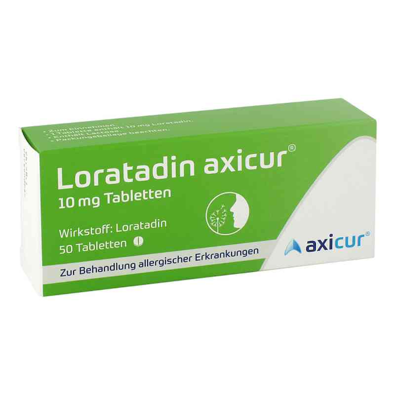 Loratadin axicur 10 mg Tabletten  bei apo-discounter.de bestellen