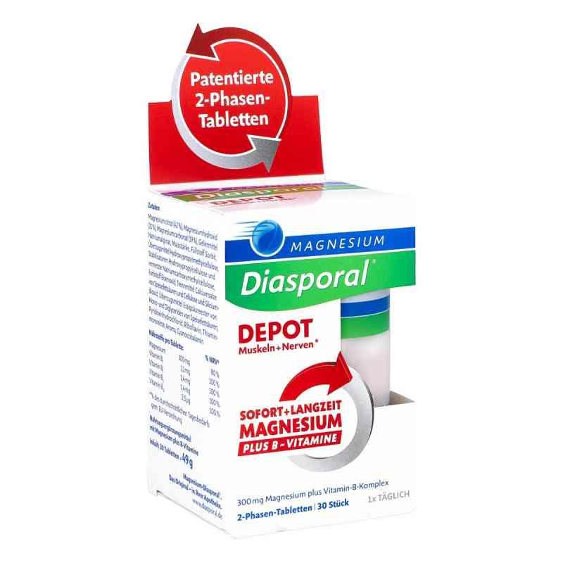 Magnesium Diasporal Depot Muskel und Nerven Tabletten  bei apo-discounter.de bestellen