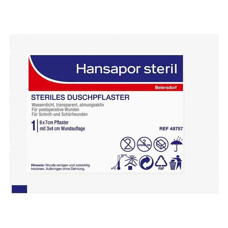 Hansapor steril Duschpflaster 6x7 cm  bei apo-discounter.de bestellen
