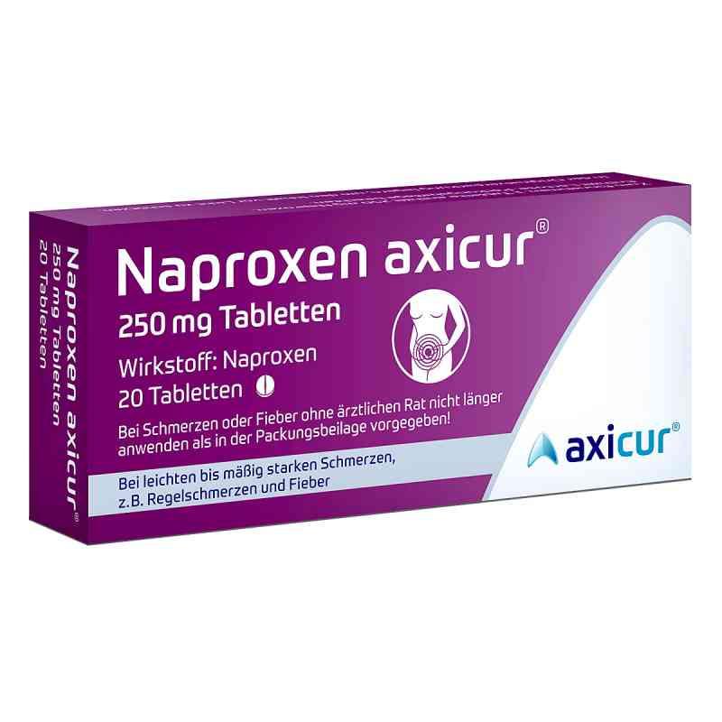 Naproxen axicur 250 mg Tabletten  bei apo-discounter.de bestellen