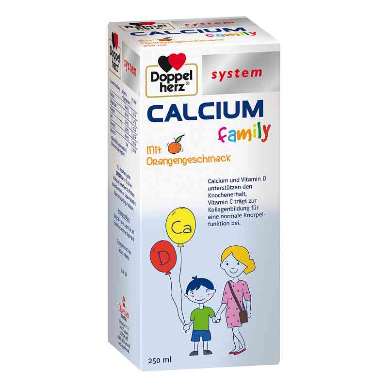 Doppelherz Calcium family system flüssig  bei apo-discounter.de bestellen